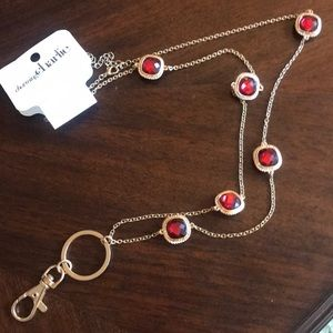 Charming Charlie's Lanyard necklace-NWT